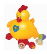 Курица-несушка (пластик)