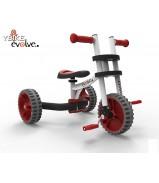YTRIK1 Велобалансир-велосипед-трансформер Y-BIKE Trike white red