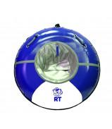 """Санки надувные """"Тюбинг RT 15"""" Deluxe с кольцом OCEAN верх-ПВХ диаметр 105 см"""