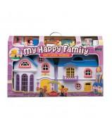 """Игровой дом """"My Happy Family"""" с предметами,сборный,музыкальный"""